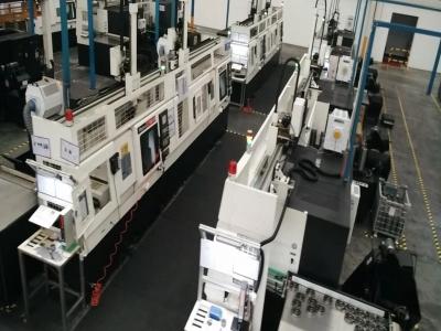 多联机桁架机械手自动生产线