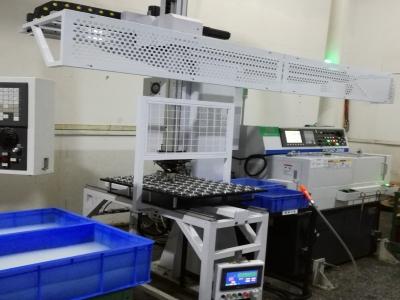 相机配件车床加工桁架机械手