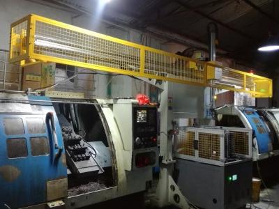 T铁华司电声扬声器配件加工CNC车床机械手