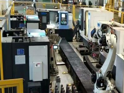瞄准器/枪瞄镜配件CNC加工机床上下料机器人