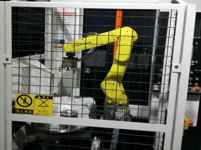 法兰加工机床上下料机器人/机械手