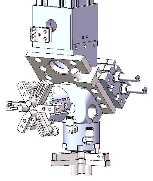 [自动化夹具案例分享]缸套加工车床上下料桁架机器人  自动化生产线 自动化夹具 第2张