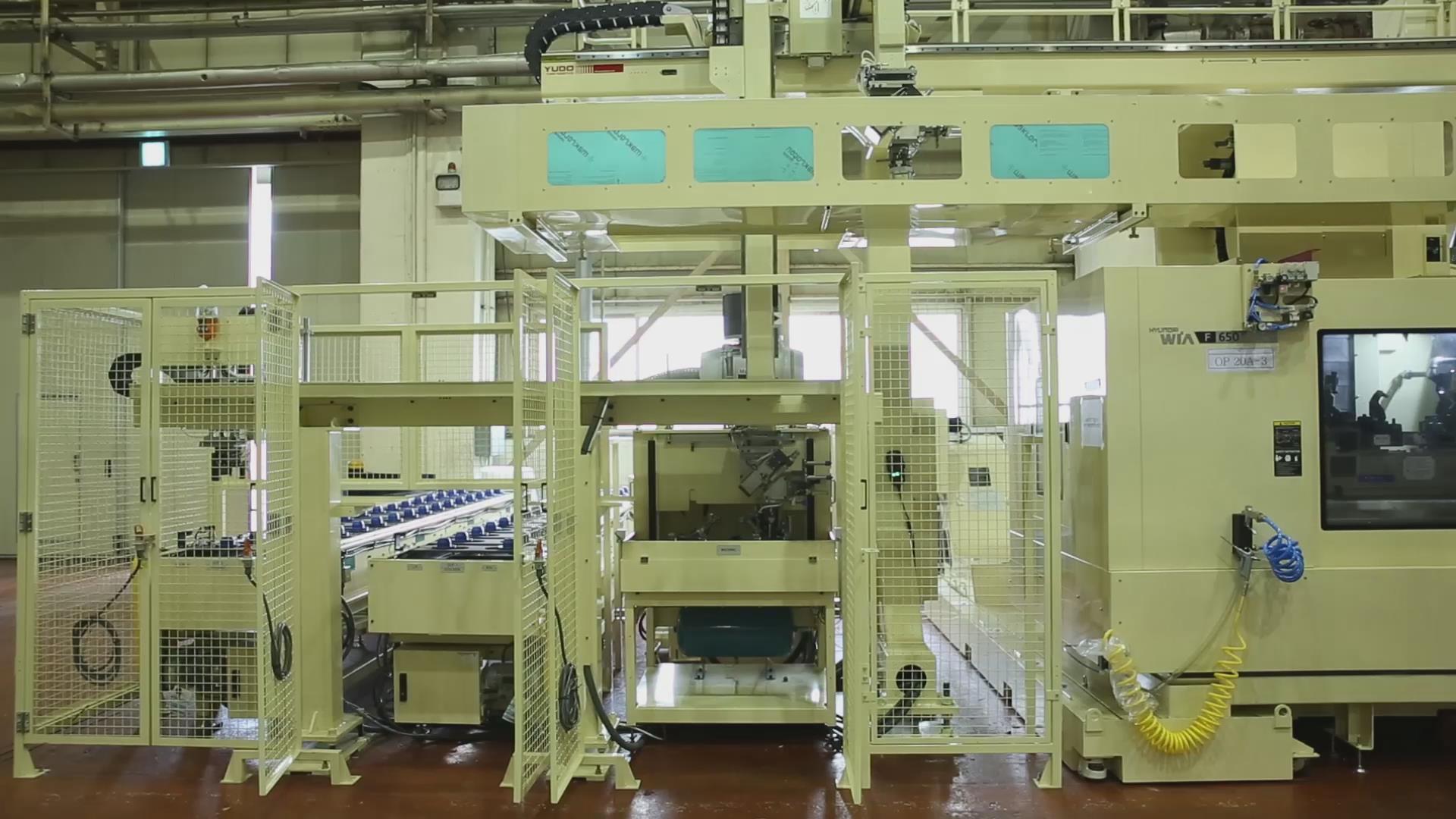 重型桁架机械手案例图片1