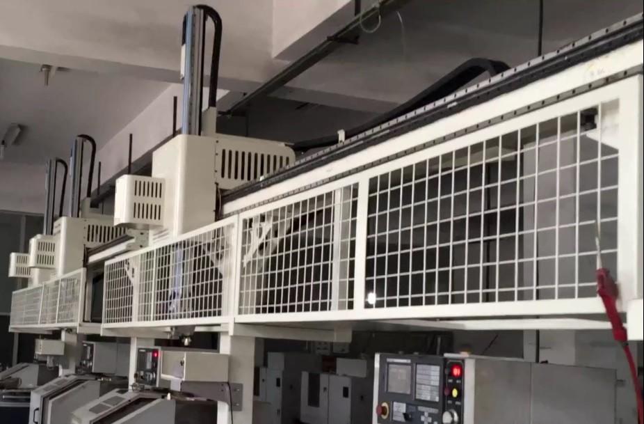 [自动化夹具案例分享]铜质管件流体阀门配件加工车床机械手  自动化生产线 自动化夹具 自动上下料 第12张