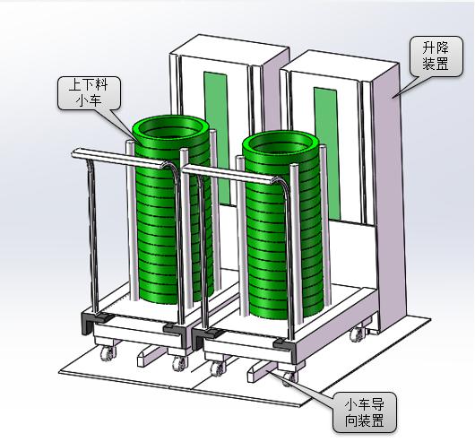 磨床机械手料仓设计说明