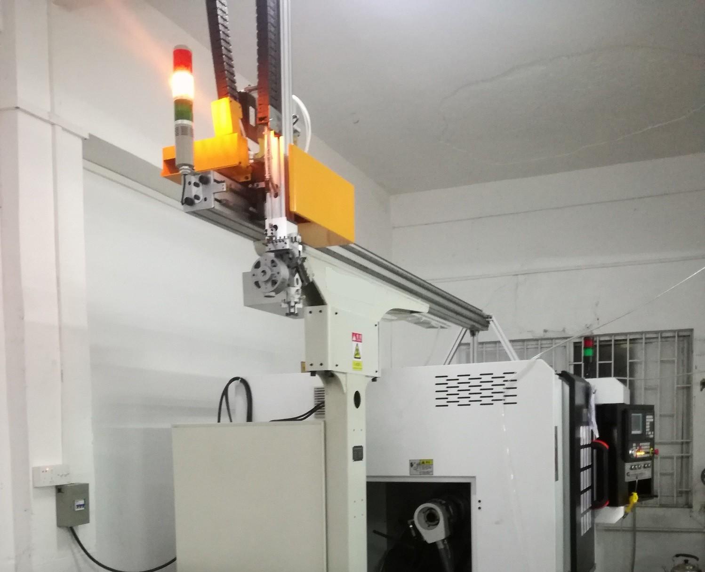 外圆磨床机械手案例图片