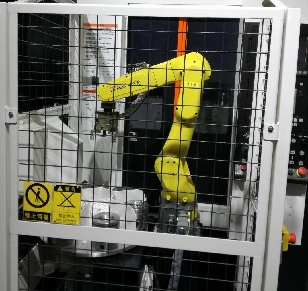 法兰加工机床上下料机器人图片1
