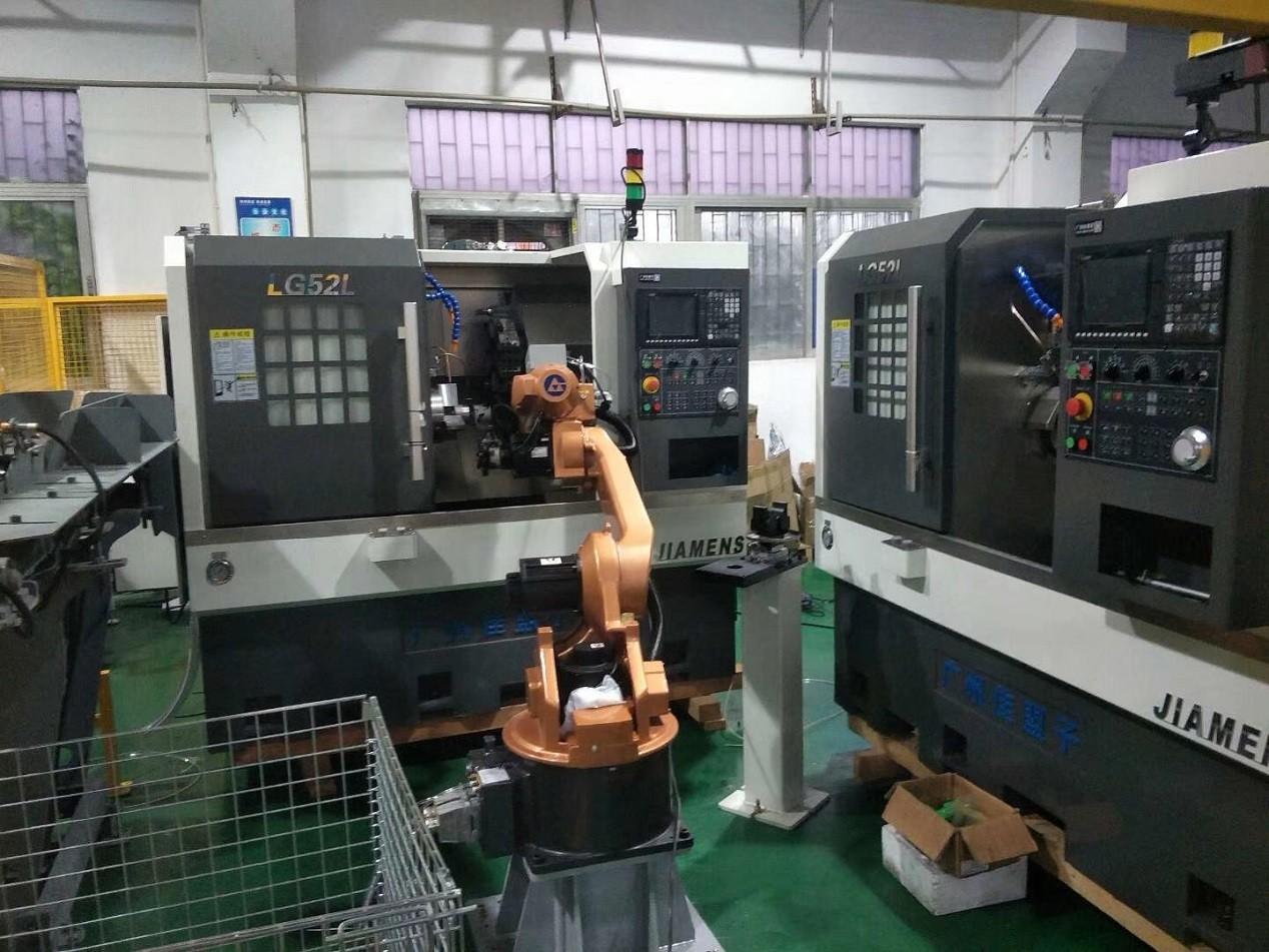 轴承车床加工上下料机器人图片1