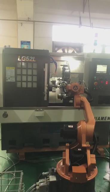轴承车床加工上下料机器人图片2