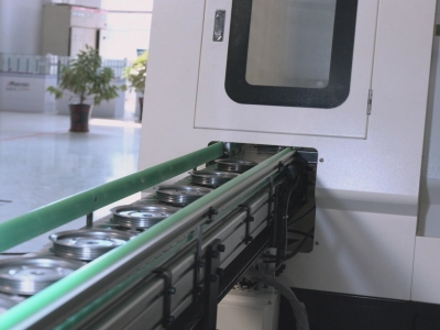 汽车皮带轮车床加工自动线实例|在线检测+刀具自动补偿功能