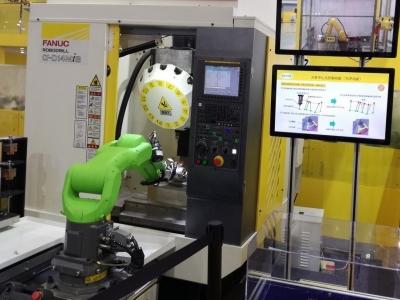 拿铁智能将携车床机械手、CNC机械手、机床上下料机器人参展第20届深圳国际机械展