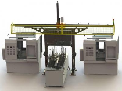 机床桁架机械手型号大全-技术参数